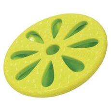 Gummilegetøj i limegrøn.