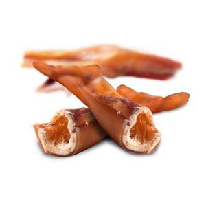 naturlig tyggestang af tørret oksekød.