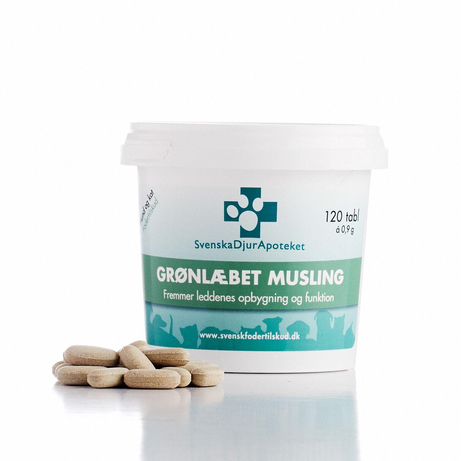 Grønlæbet musling: for sunde og komfortable led til voksne hunde og katte