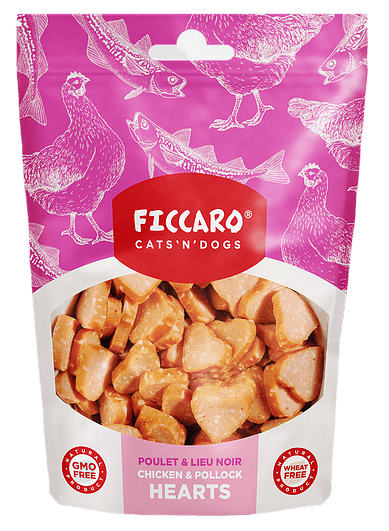 Ficcaro Chicken & Pollock Hearts