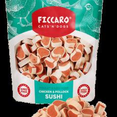 Ficcaro Chicken & Pollock Sushi