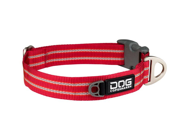 Rødt Urban Style halsbånd HundeGodbid