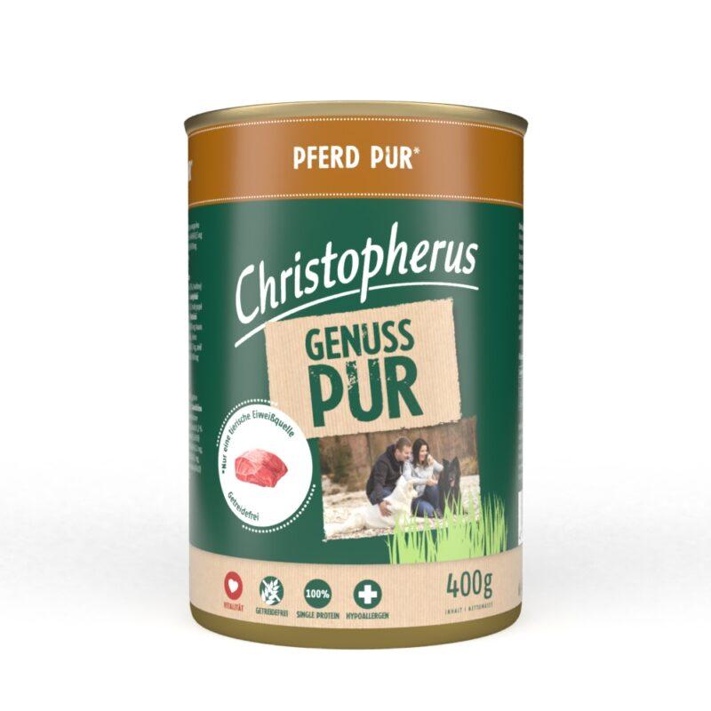 Christopherus PUR Hest HundeGodbid