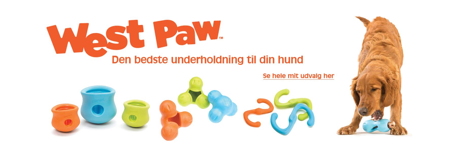Hundelegetøj fra West paw - det bedste lejetøj til din hund